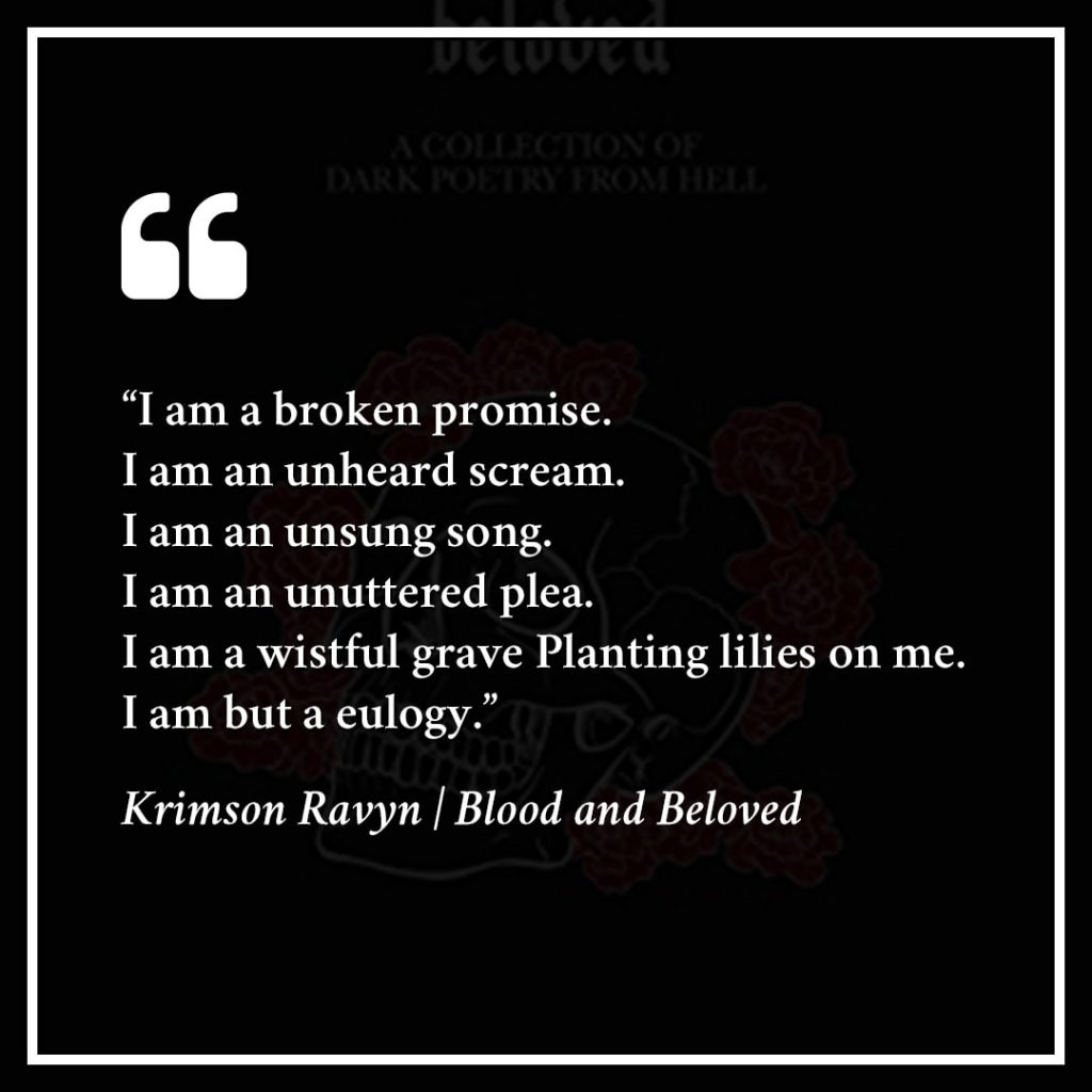 Favorite Prose - Blood and Beloved by Krimson Ravyn